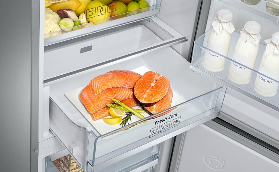 Αυτό το ψυγείο διατηρεί κρέατα και ψάρια στη βέλτιστη θερμοκρασία και έτσι αυτά παραμένουν φρέσκα έχοντας το καλύτερο δυνατό άρωμα.