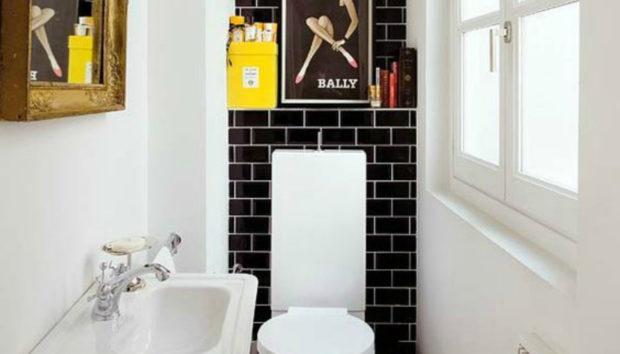 Μπάνιο: Οι πιο Έξυπνες Ιδέες διακόσμησης για Μικρό Μπάνιο