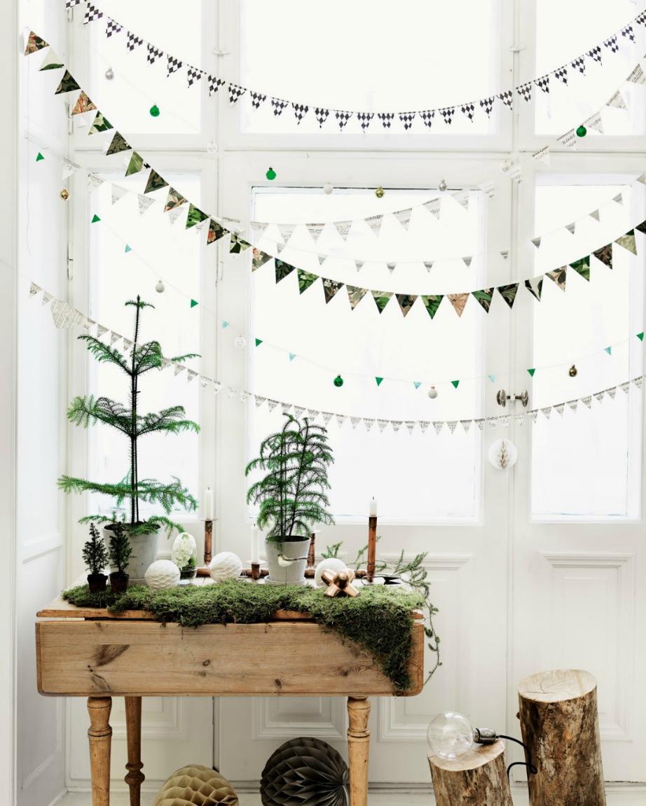 Το ξύλο και η πρασινάδα είναι ένας υπέροχος συνδυασμός.