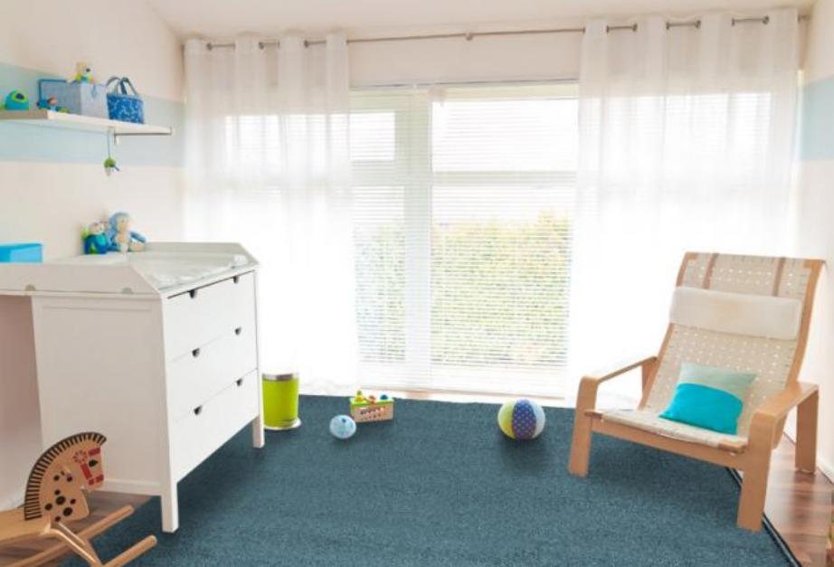 Τα συγκεκριμένα χαλιά δεν λερώνονται και αποτελούν ιδανική επιλογή για το παιδικό δωμάτιο.