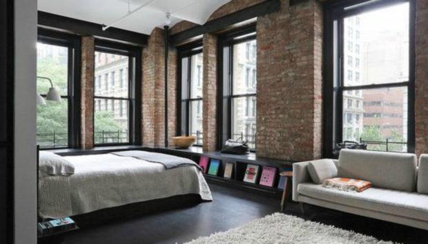 Να πως θα Κάνετε το Σαλόνι σας να Μοιάζει με Loft της Νέας Υόρκης