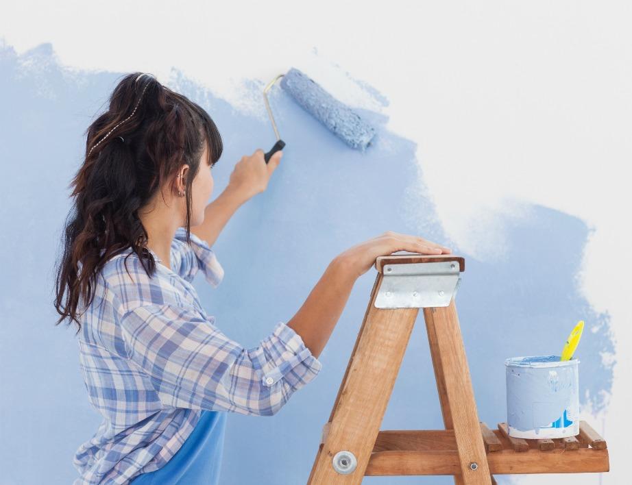 Τα αντιμουχλικά χρώματα μπορούν να προστατέψουν τους τοίχους σας σε μεγάλο βαθμό.