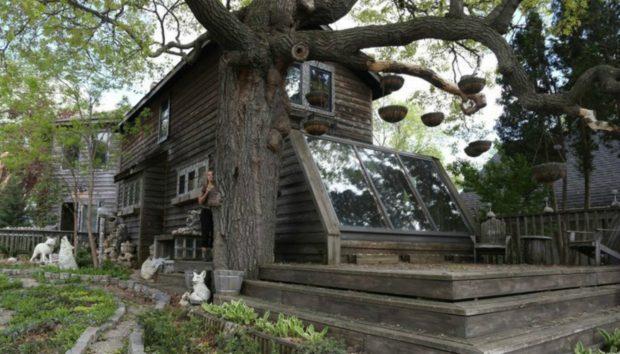 Για 35 Χρόνια Έφτιαχνε το Σπίτι των Ονείρων της. Το Εσωτερικό του δεν Μοιάζει με Κανένα από όσα Σπίτια Έχετε δει Μέχρι Σήμερα