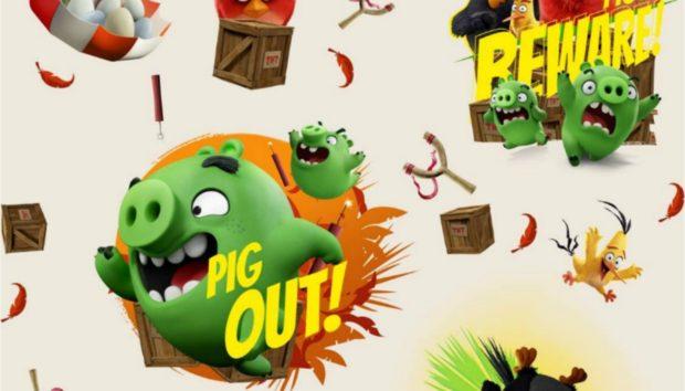 Τα Colore Colori Υποδέχονται τα Angry Birds!