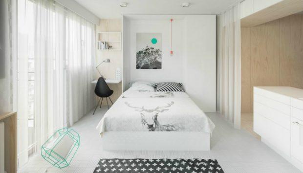 Αυτό το Διαμέρισμα Είναι Μόλις 20 τμ Αλλά Είναι Υπέροχα Διακοσμημένο!