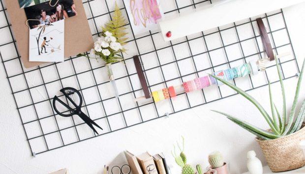 Αποθηκεύστε τα Καθημερινά σας Αντικείμενα με Αυτό το DIY που θα Διακοσμήσει τους Τοίχους σας (VIDEO)