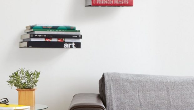 Φτιάξτε Αόρατα Ράφια με Αυτό το Πανέξυπνο DIY