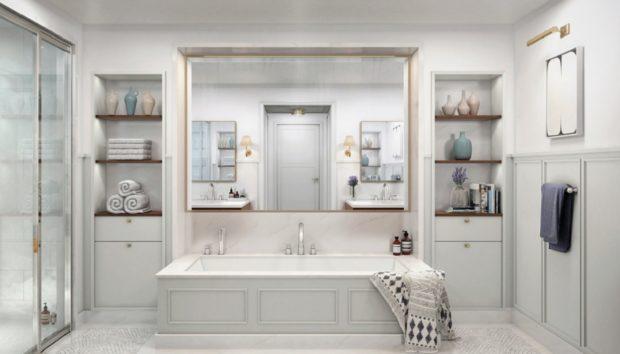 5 Υπέροχα Μπάνια Διασήμων για να Κλέψετε Ιδέες για το Δικό σας
