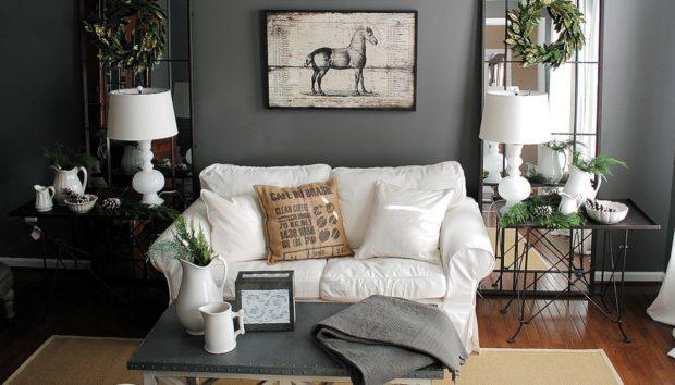 Δείτε πώς να Χρησιμοποιήσετε τα Σκούρα Χρώματα στους Τοίχους σας Χωρίς να το Μετανιώσετε
