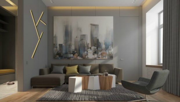 Ένα Διαμέρισμα 70 τμ που θα σας Εντυπωσιάσει με τον Κάθε Χώρο του!