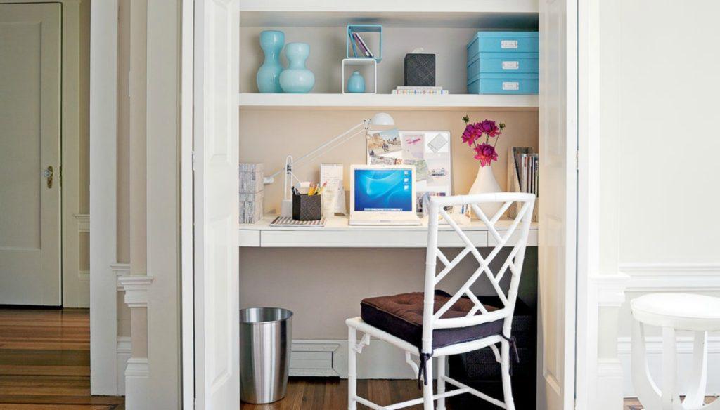 97ecb605444f 11 Τρόποι για να Βρείτε Χώρο για Γραφείο στο Σπίτι. Θα Πάθετε Πλάκα ...