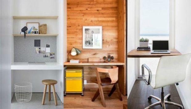 10 Ξεχωριστές Ιδέες για Μικρό Αλλά Όμορφο Γραφείο στο Σπίτι