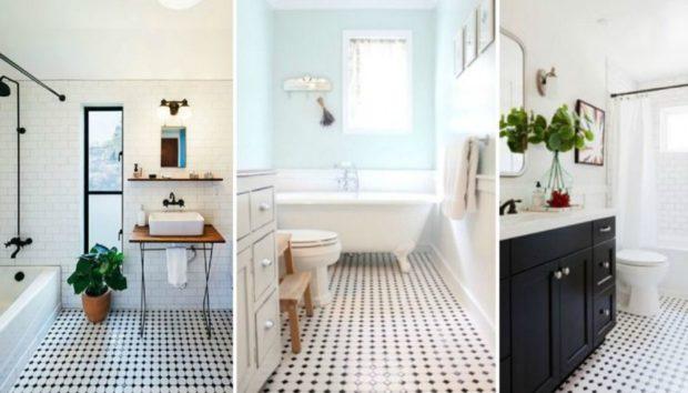 Τα Κλασικά Vintage Πλακάκια Μπάνιου Επέστρεψαν και τα Βλέπουμε Παντού!