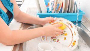 πλύσιμο πιάτων