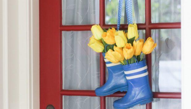 Διακοσμήστε Ανοιξιάτικα την Πόρτα του Σπιτιού σας
