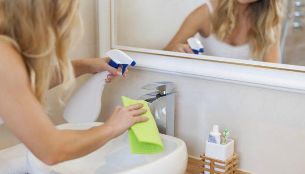 Καθαρίστε το Μπάνιο σας σε Βάθος σε 7 Βήματα!