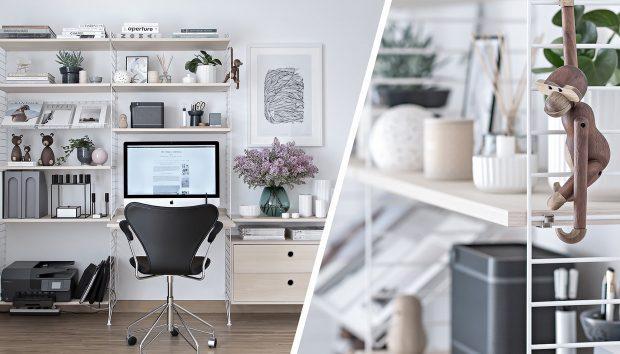 Αγαπάτε τη Σκανδιναβική Διακόσμηση; Τότε Αυτό Είναι το Γραφείο των Ονείρων σας!