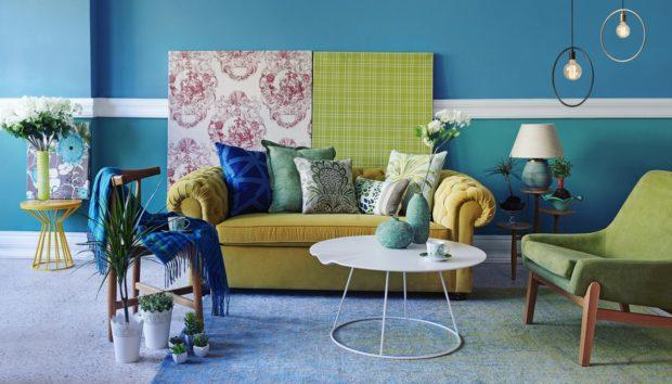Έντονα Χρώματα σε Μικρό Χώρο; Κι όμως, Γίνεται με Αυτά τα Tips!