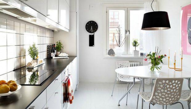 12 Τραπεζαρίες που Είναι Ταυτόχρονα και Τραπέζια Κουζίνας!