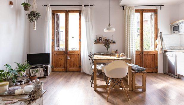 Ένα Πολύ Κομψό Σπίτι 75 τμ στη Βαρκελώνη θα σας Δώσει Έξυπνες Ιδέες Διακόσμησης