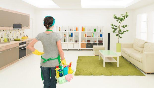 Έτσι θα Διατηρήσετε το Σπίτι σας Καθαρό για Περισσότερο από… 5 Λεπτά!