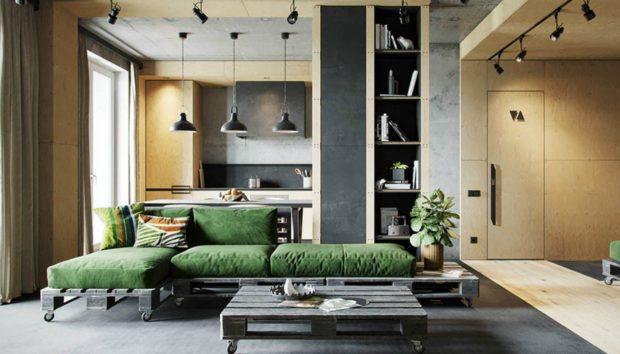 Ένα Εκπληκτικό Διαμέρισμα 72 τμ που θα σας Δώσει Απίστευτες Ιδέες Διακόσμησης!