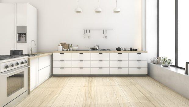 Αυτός Είναι ο πιο Οικονομικός Τρόπος για να Ανανεώσετε το Πάτωμα της Κουζίνας σας