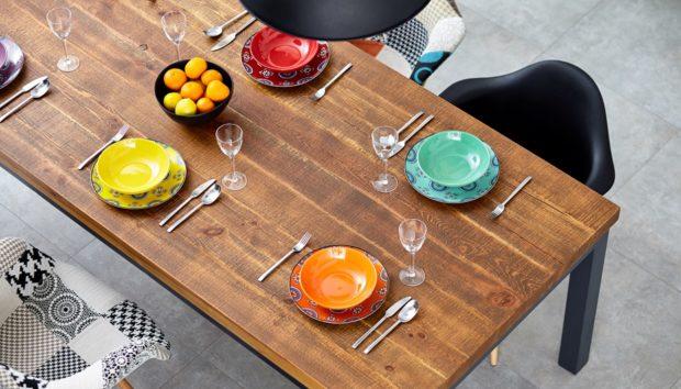 10 Ιδέες για να Βάλετε Χρώμα στην Τραπεζαρία σας
