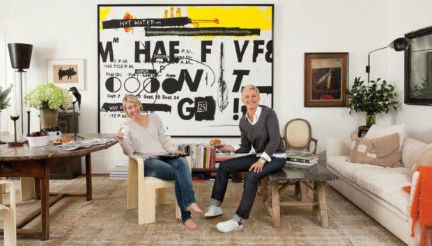 Ellen DeGeneres & Portia de Rossi: Το Εκπληκτικό Σπίτι τους στην Καλιφόρνια!