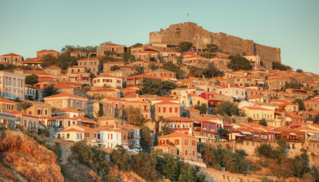 χωριό της μυτιλήνης