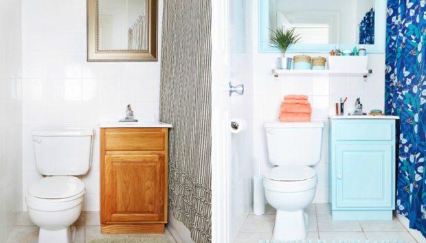 Δείτε Πώς Μπορείτε να Μεταμορφώσετε το Μπάνιο σας με Ένα Κουτί Μπογιά!