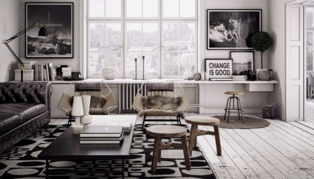 Γκρι: Διακοσμήστε Ολόκληρο το Σπίτι σας με το Δημοφιλέστερο Χρώμα του Pinterest
