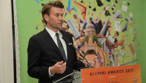 Alumni Awards 2018: Ο Σπύρος Σούλης Είναι για 2η Χρονιά Πρεσβευτής των Βραβείων Αποφοίτων Βρετανικής Εκπαίδευσης