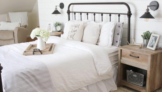Έτσι θα Κάνετε το Υπνοδωμάτιο σας να Μοιάζει με Μάστερ Σουίτα όσο Μικρό κι αν Είναι