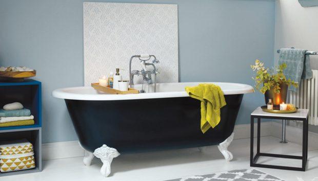10 Τρόποι για να Προσθέσετε μια Πινελιά Χρώματος στο Μπάνιο σας