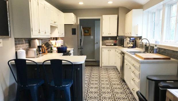 Δείτε την Πανεύκολη Μεταμόρφωση Αυτής της Κουζίνας!