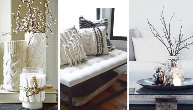 Ιδέες για να Ανανεώσετε την Χειμερινή Διακόσμηση του Σπιτιού σας με Λιγότερο από 50 Ευρώ