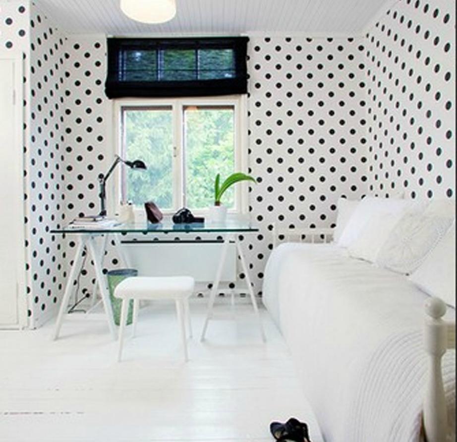 Το πουά αν συνδυαστεί σωστά και δέσει με την υπόλοιπη διακόσμηση του σπιτιού μπορεί να αναβαθμίσει κατά πολύ το στιλ του σπιτιού σας.