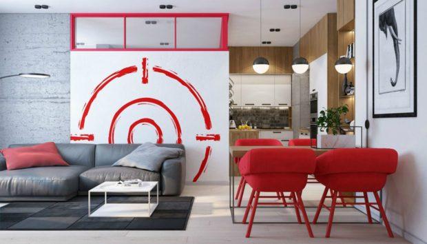 Ένα Διαμέρισμα 52 τμ με Πολύ Χρώμα και Γούστο!