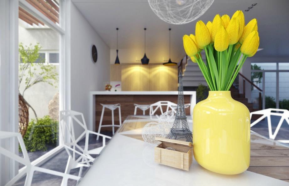 Το κίτρινο είναι ένα χρώμα που θα βελτιώσει δραματικά την ψυχολογία σας.