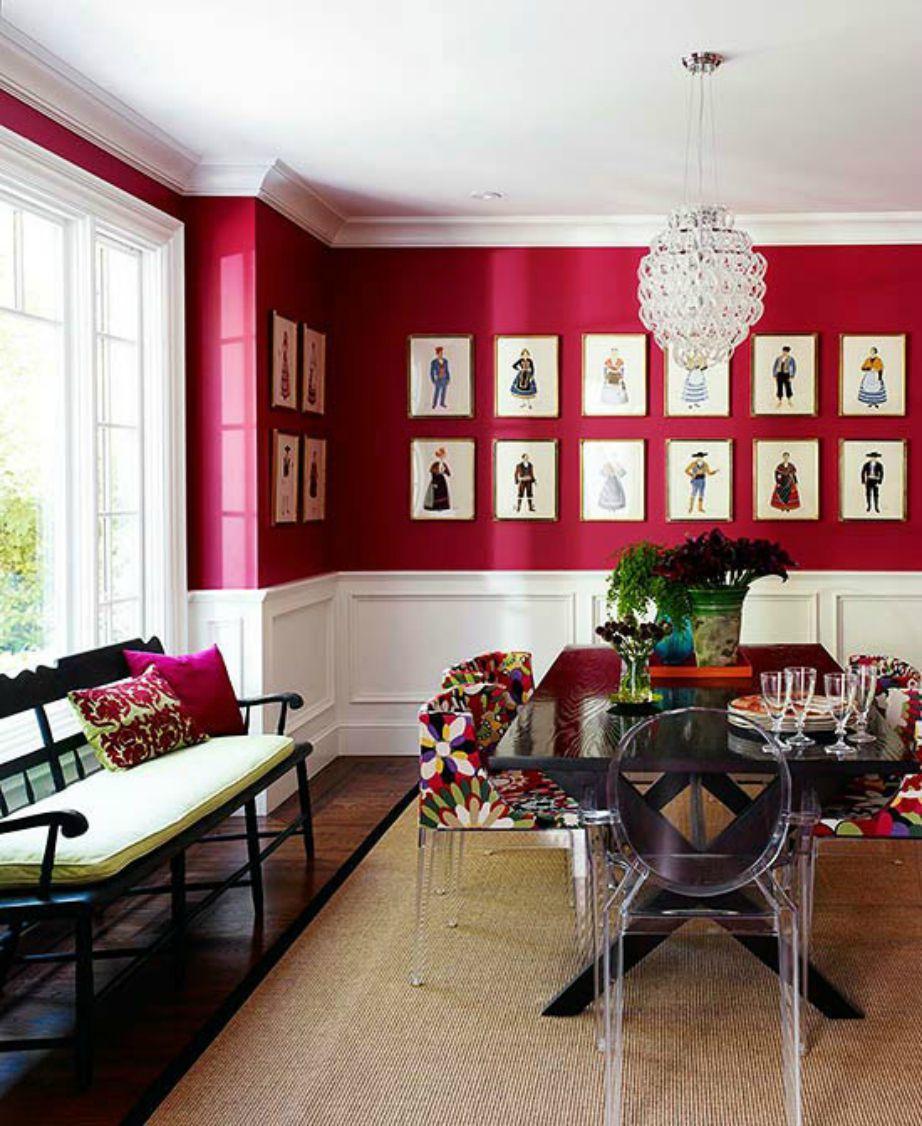 Αν θέλετε να βάλετε αυτή την έντονη απόχρωση στο σπίτι σας κάντε το με μέτρο γιατί ένα έντονο χρώμα συνήθως δείχνει υπερβολικό και κουραστικό όταν καλύπτει μεγάλες επιφάνειες.