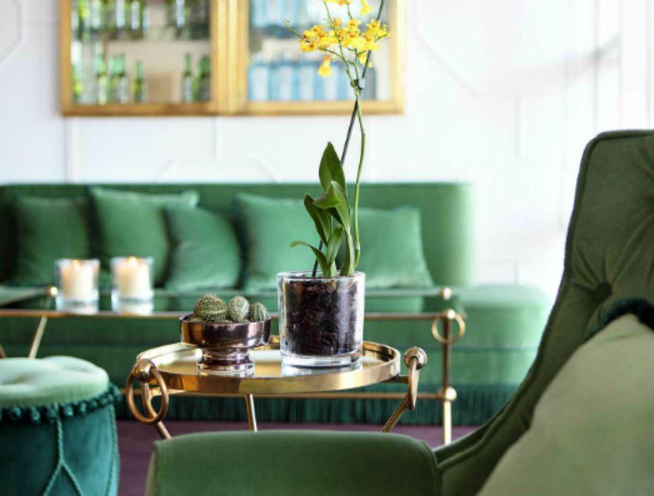 άλλη μια απόχρωση που θα κυριαρχήσει φέτος είναι αυτή του πράσινου. Βάψτε το υπνοδωμάτιό σας σε παλ πράσινο και θα δείτε πόσο πιο χαλαρωτικό θα δείχνει.