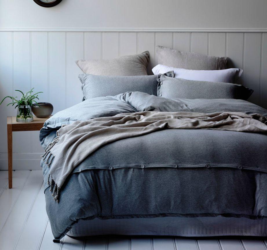 Το γκρι αποτελεί σταθερή αξία για το υπνοδωμάτιο!