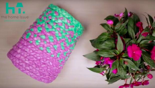 Το spirossoulis.com Έφτιαξε το πιο Όμορφο Καλάθι με Αυτό το Υλικό που δεν Πάει ο Νους σας (VIDEO)