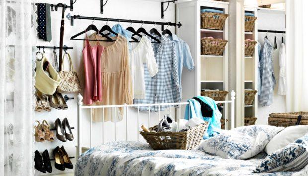 Τι να Κάνετε Όταν δεν Έχετε Καθόλου Αποθηκευτικό Χώρο στο Υπνοδωμάτιο