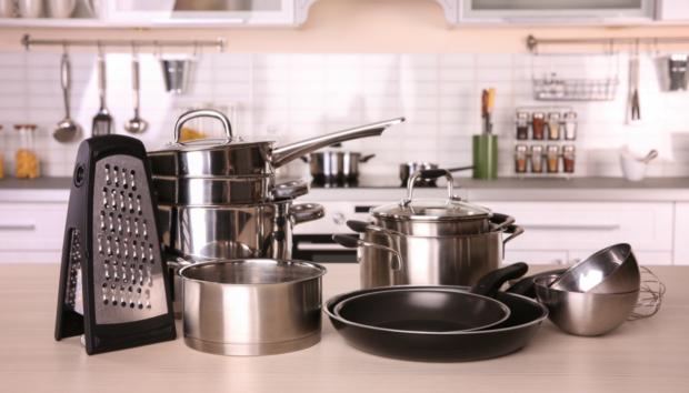 8 Πρωτότυπες Ιδέες για να Αποθηκεύσετε τα Μαγειρικά Σκεύη Μέσα στην Κουζίνα