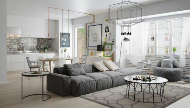 Ένα Διαμέρισμα που θα σας Δώσει Έξυπνες Ιδέες Διακόσμησης!