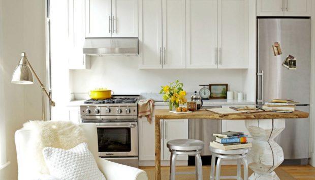 5 Πανέξυπνοι Τρόποι για να Κερδίσετε Χώρο στη Μικρή σας Κουζίνα