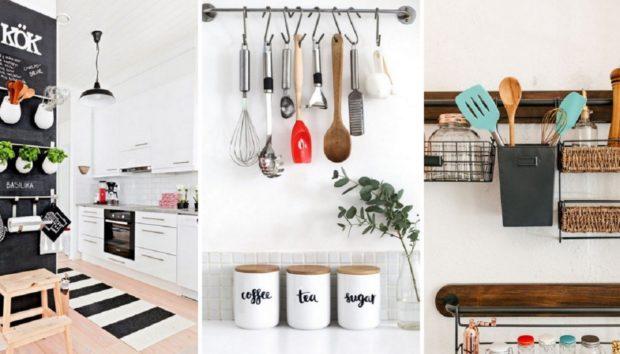 Έχει η Κουζίνα σας Λίγα Ντουλάπια; Δείτε τι Μπορείτε να Κάνετε