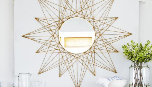 DIY: Αυτός ο Καθρέφτης θα Μεταμορφώσει Κάθε Βαρετό Τοίχο του Σπιτιού σας!